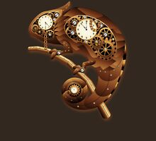 Steampunk Chameleon Vintage Style T-Shirt