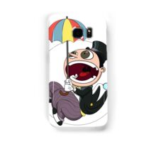 Penguin drops in Samsung Galaxy Case/Skin