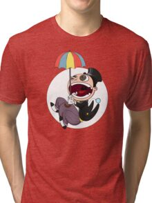 Penguin drops in Tri-blend T-Shirt
