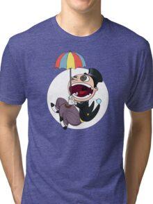 Penguin drops in Tri-blend T-Shirt