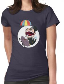 Penguin drops in Womens Fitted T-Shirt