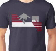 Hard Flip  - red/wht Unisex T-Shirt