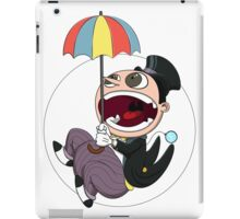 Penguin drops in iPad Case/Skin