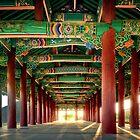 korean architecural art by wulfman65