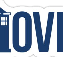The Who in Vian - Whovian Sticker
