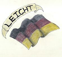 Leicht & Germany Flag by lighthousegrphx