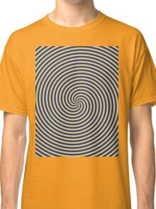 Swirl in Green Blue and Violet Classic T-Shirt