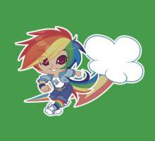 MLP Gijinka Rainbowdash  One Piece - Short Sleeve
