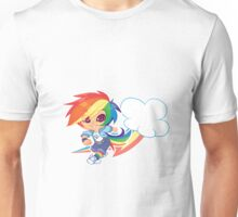 MLP Gijinka Rainbowdash  Unisex T-Shirt