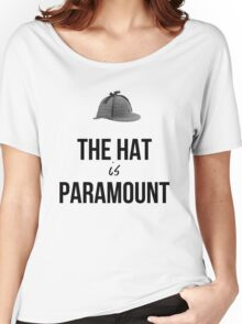 The Hat is Paramount - Cabinlock Women's Relaxed Fit T-Shirt