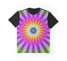 Wheel of Colour Graphic T-Shirt