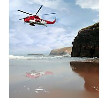 air sea rescue coast search Photographic Print
