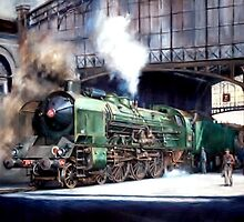 SNCF 231 locomotive by Mike Jeffries
