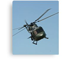 Lynx Helicopter Canvas Print