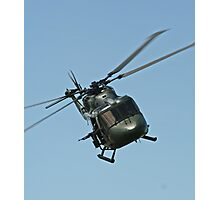 Lynx Helicopter Photographic Print