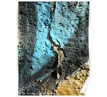 Abstract On A Wall Poster