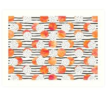 Fruity Orange Art Print