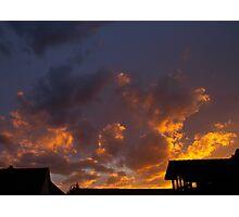 Sunset Lights Photographic Print