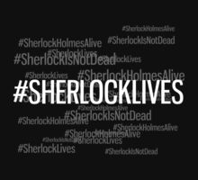 #SHERLOCKLIVES Kids Tee