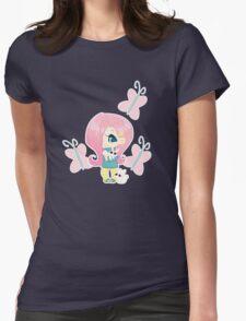 MLP Gijinka Fluttershy Womens Fitted T-Shirt