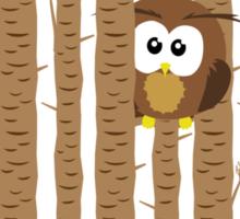 Ruth's Owl Sticker