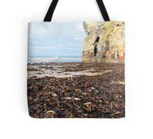 ballybunion beach cliff seaweed Tote Bag