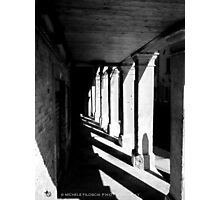 Colonnade in Venice Photographic Print