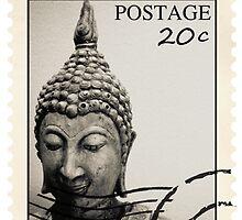 Buddha Postage by Shaun Groenesteyn
