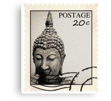 Buddha Postage Canvas Print