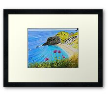 Man O War Bay - a different perspective Framed Print