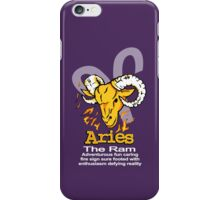 Aries The Ram iPhone Case/Skin