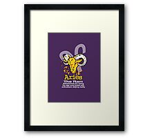 Aries The Ram Framed Print