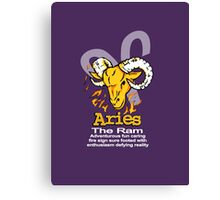 Aries The Ram Canvas Print