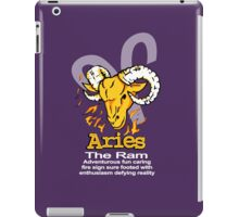 Aries The Ram iPad Case/Skin