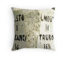 How many more miles Throw Pillow