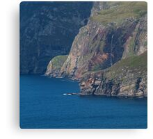 The Foot of Slieve League Canvas Print
