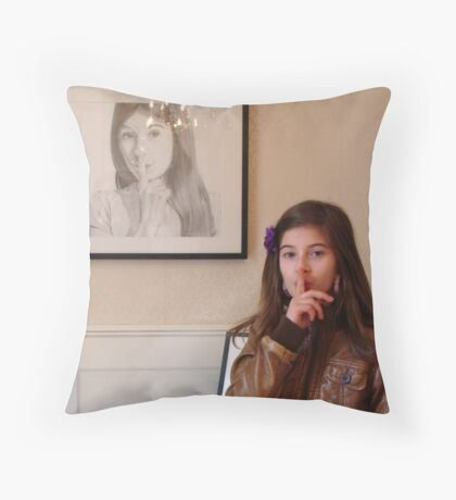 Amelie & Amelie Throw Pillow