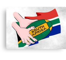 South Africa Rugby Canvas Print