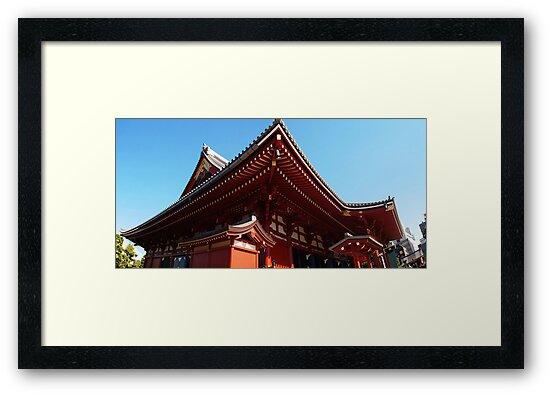 Tokyo Kannon Temple by Raftman