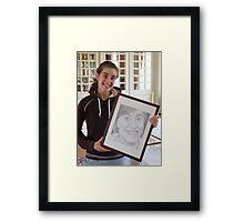 Justine & Justine Framed Print
