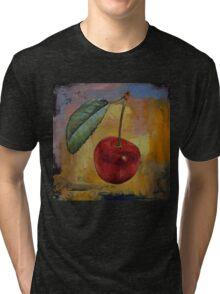 Vintage Cherry Tri-blend T-Shirt