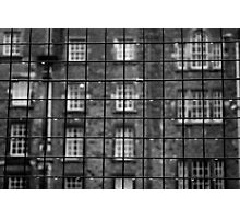 Rain windows Photographic Print