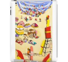 Between the flags iPad Case/Skin