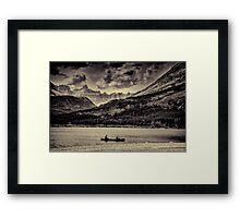 Quite Journey  Framed Print