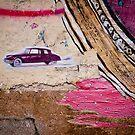 Piece of wall by Laurent Hunziker