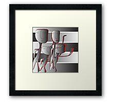Family Art Framed Print