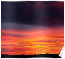 A beautiful sunset Poster