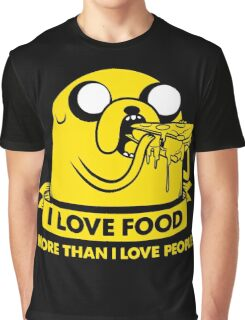 I love food more than I love people Graphic T-Shirt
