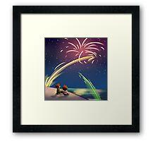 """Fourth of July"" Framed Print"