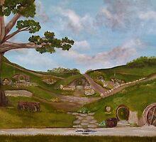 Here be Hobbits... by Susie Hawkins